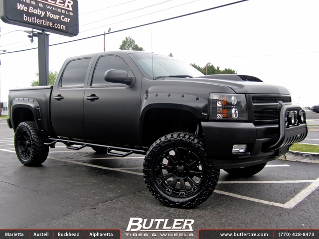 Chevrolet Silverado With 22in Xd Misfit Wheels Exclusively