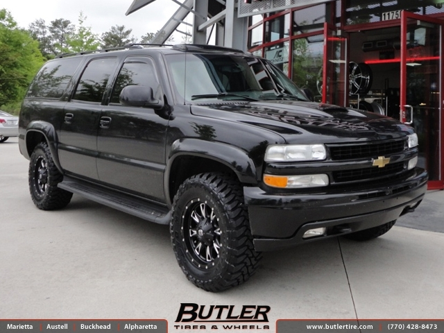 Chevrolet Suburban With 18in Fuel Throttle Wheels