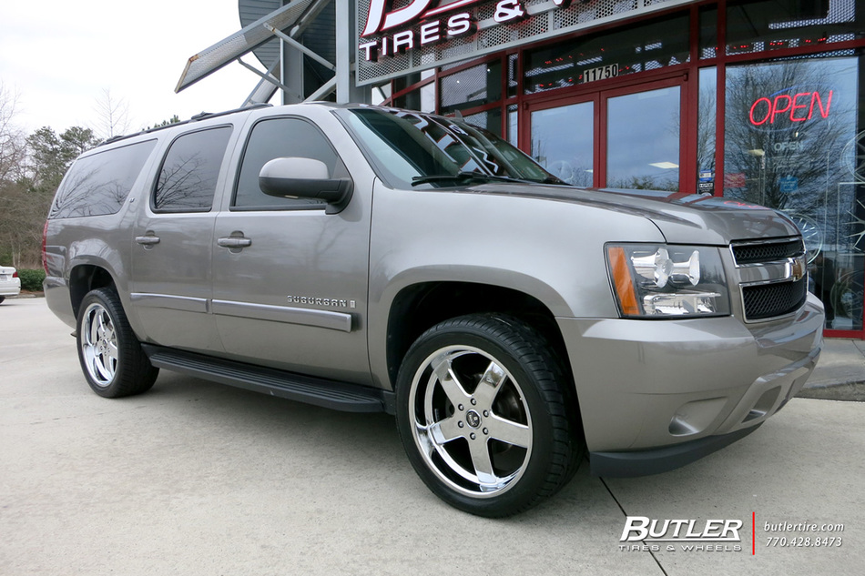 Chevrolet Suburban With 22in Dub Big Baller Wheels
