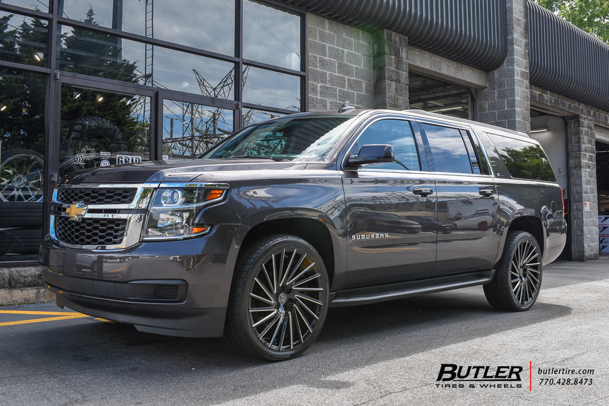 Chevrolet Suburban with 24in Lexani Wraith Wheels