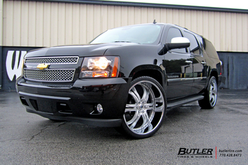 Chevrolet Suburban with 26in Asanti AF176 Wheels