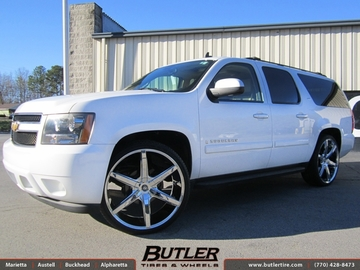 Chevrolet Suburban with 26in Lexani R-Six Wheels