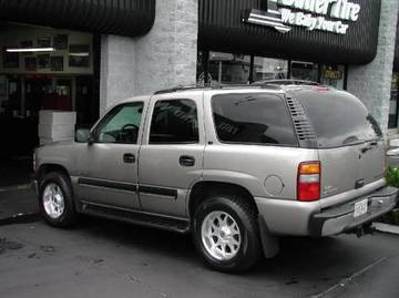 Chevrolet Tahoe with 18in Axis Vector Wheels