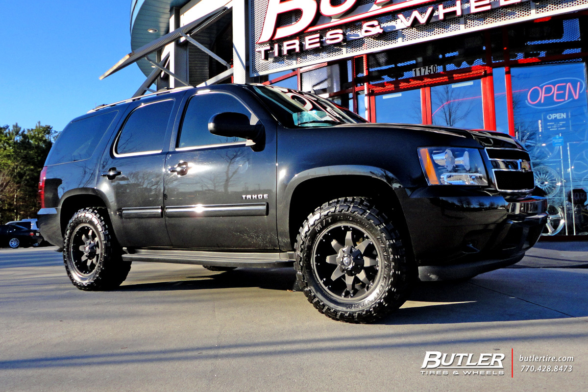 Chevrolet Tahoe with 18in Fuel Octane Wheels