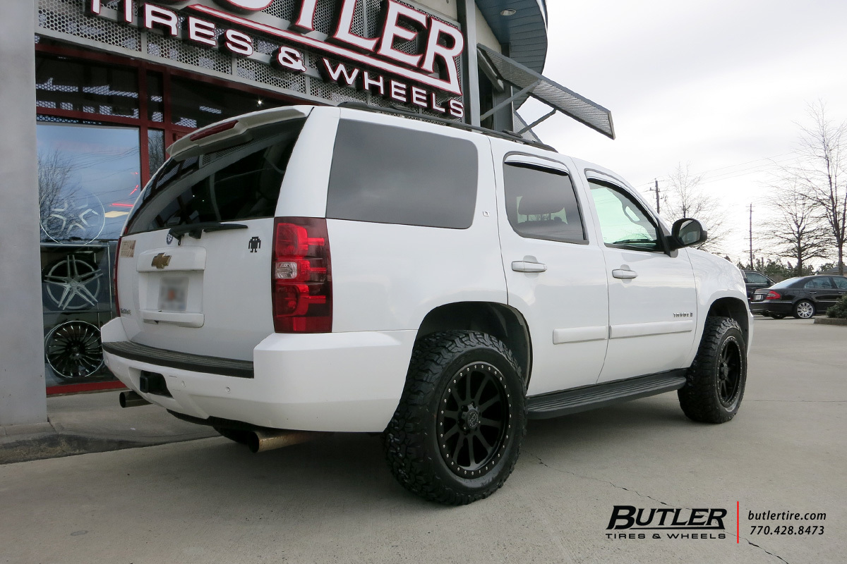 Chevrolet Tahoe with 20in Black Rhino Mint Wheels