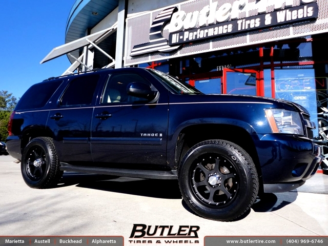 Chevrolet Tahoe with 20in Black Rhino Ocotillo Wheels