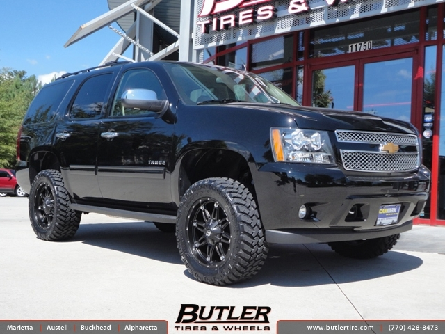 Chevrolet Tahoe with 20in Fuel Hostage Wheels