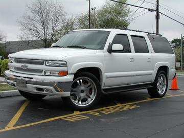 Chevrolet Tahoe with 22in Axis Legend Wheels