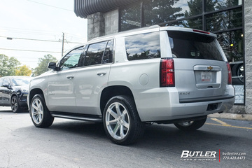 Chevrolet Tahoe with 22in Black Rhino Mozambique Wheels
