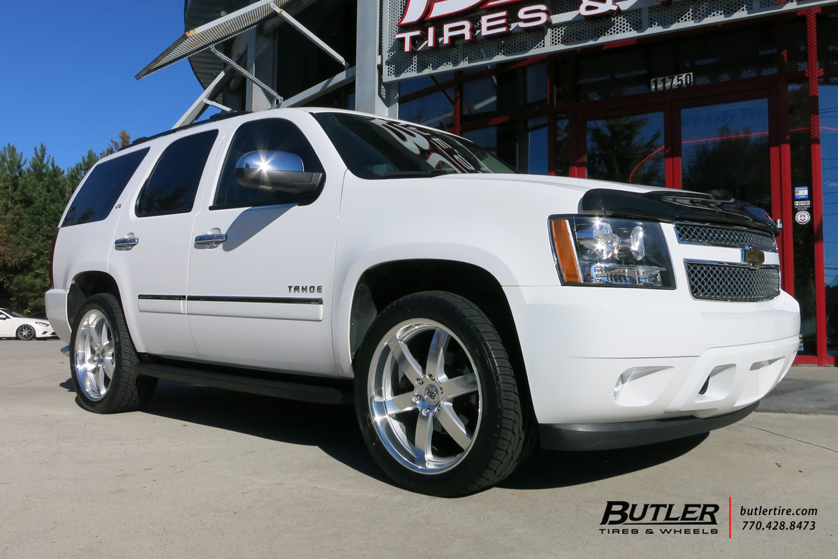 Chevrolet Tahoe with 22in Black Rhino Pondora Wheels