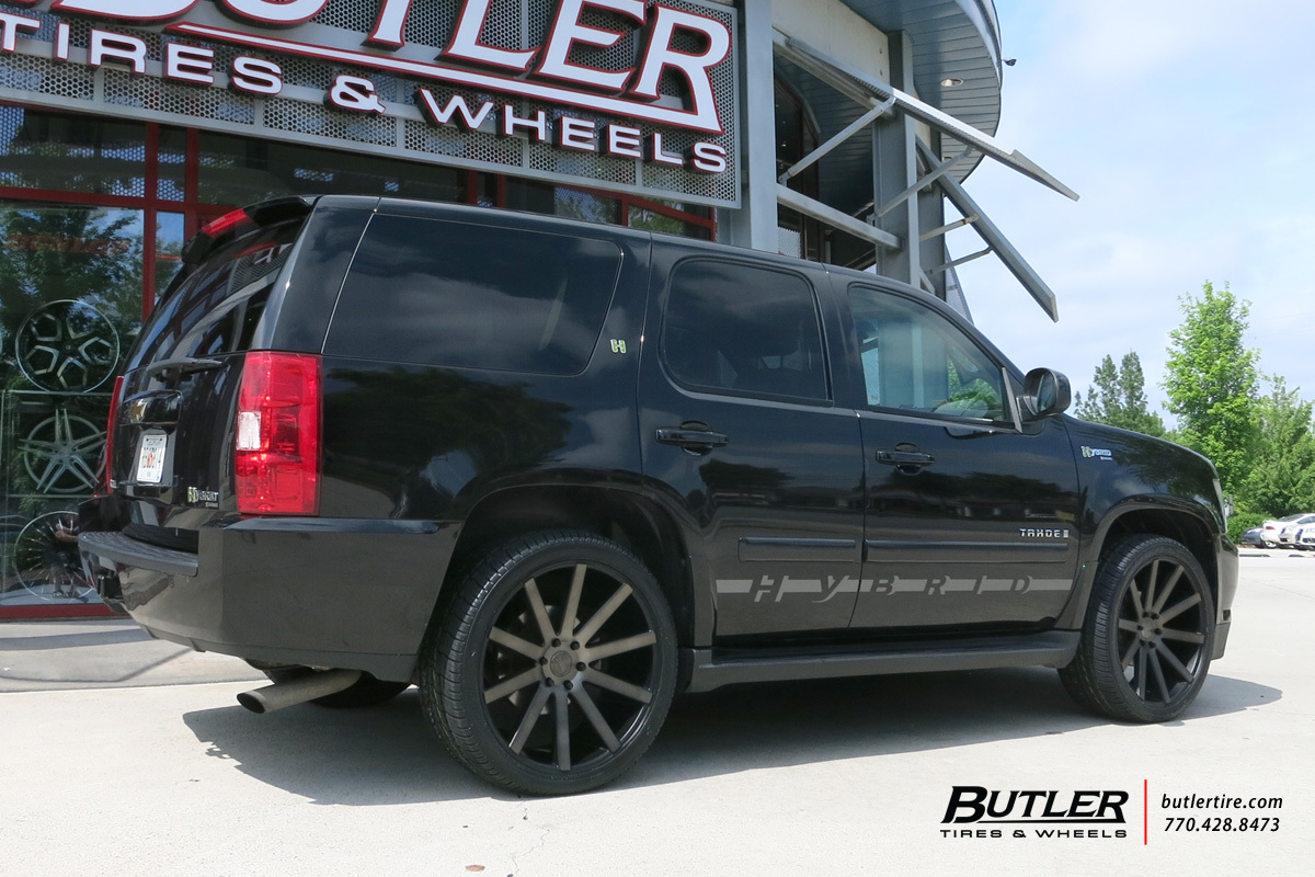 Chevrolet Tahoe with 22in DUB Shot Calla Wheels exclusively from ...
