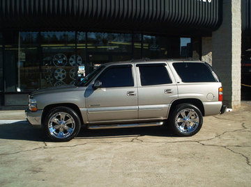 Chevrolet Tahoe with 22in Foose Spank Wheels