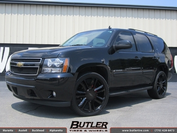 Chevrolet Tahoe with 24in JR Platinum Wheels