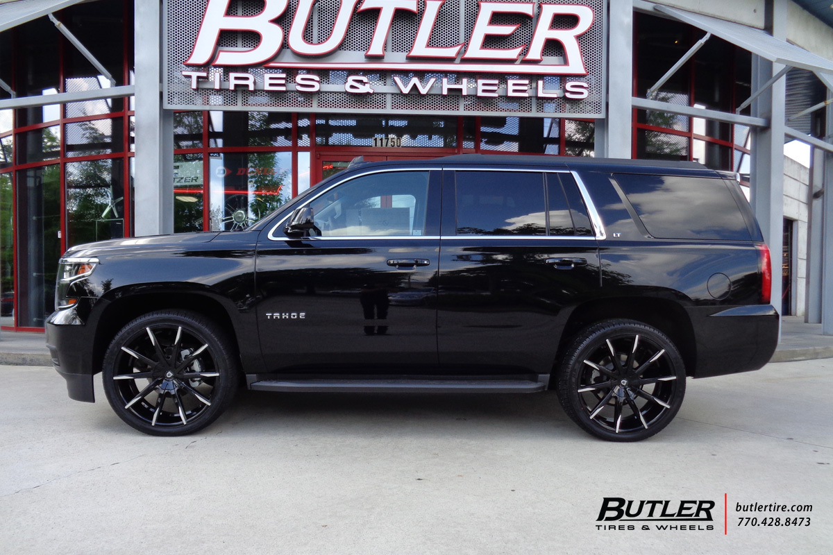 Chevrolet Tahoe With 24in Lexani Css15 Wheels Exclusively From Butler Tires And Wheels In