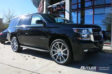 Chevrolet Tahoe with 24in Lexani CSS15 Wheels