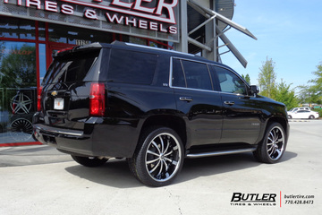 Chevrolet Tahoe with 24in Lexani LSS10 Wheels
