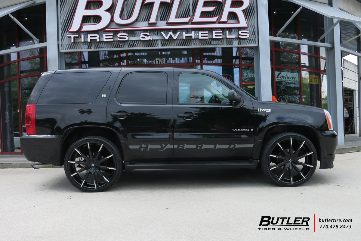 Chevrolet Tahoe with 26in Lexani CSS15 Wheels