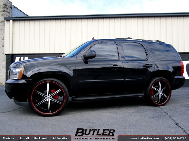 Chevrolet Tahoe with 26in Lexani LX 6 Wheels