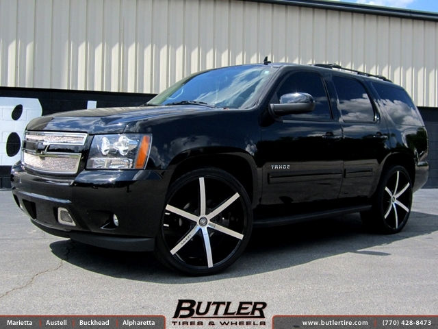 Chevrolet Tahoe with 26in Lexani R-Six Wheels