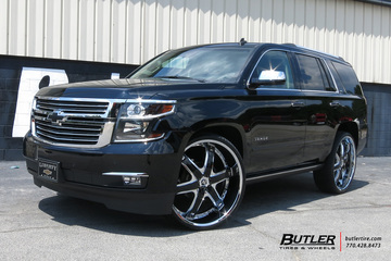 Chevrolet Tahoe with 28in Diablo Fury Wheels