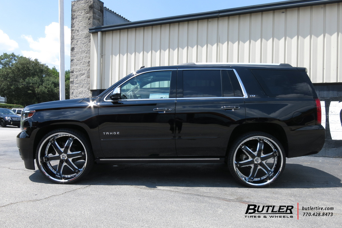 Chevrolet Tahoe with 28in Diablo Fury Wheels exclusively ...
