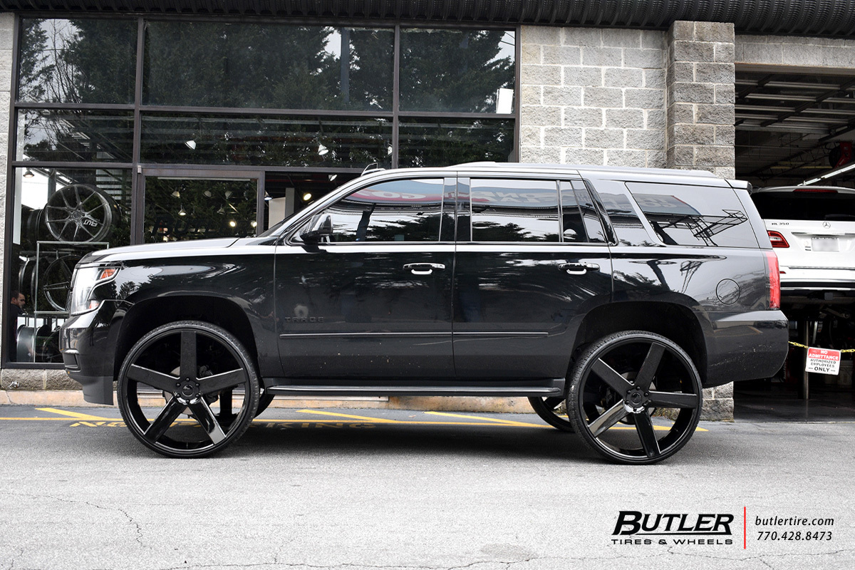 Chevrolet Tahoe with 30in DUB Baller Wheels