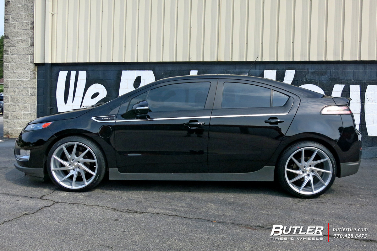 Chevy Volt Aftermarket Wheels >> Chevrolet Volt with 20in Niche Invert Wheels exclusively from Butler Tires and Wheels in Atlanta ...