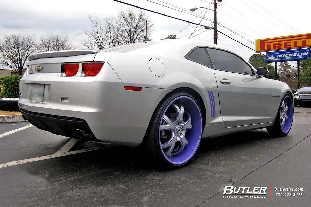 Chevy Camaro with 24in Asanti ELT162 Wheels
