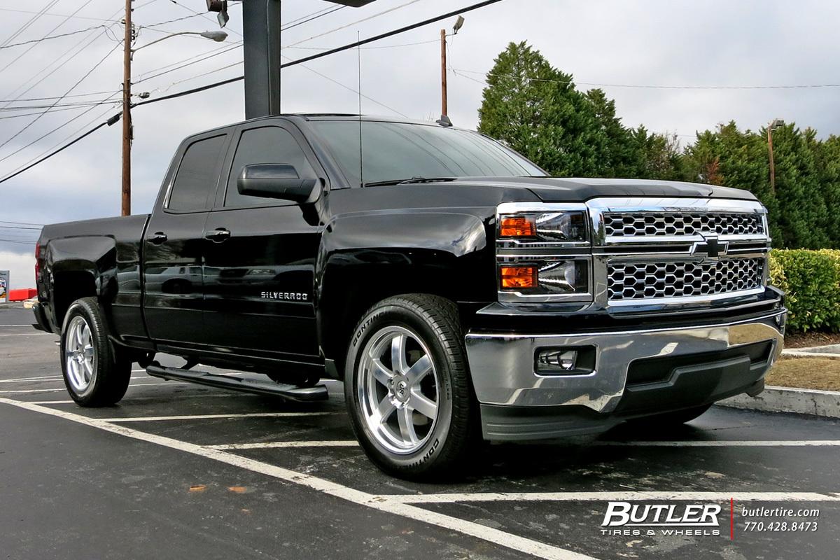 Chevrolet Silverado With 20in Black Rhino Pondora Wheels