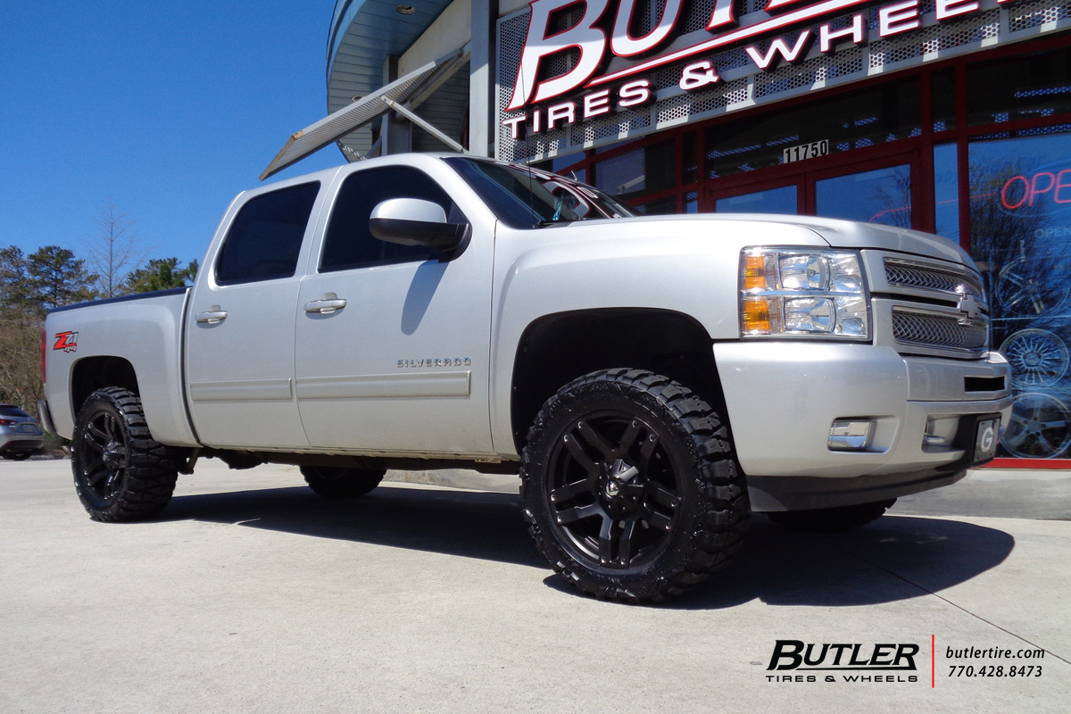 Chevrolet Silverado With 20in Fuel Pump Wheels Exclusively