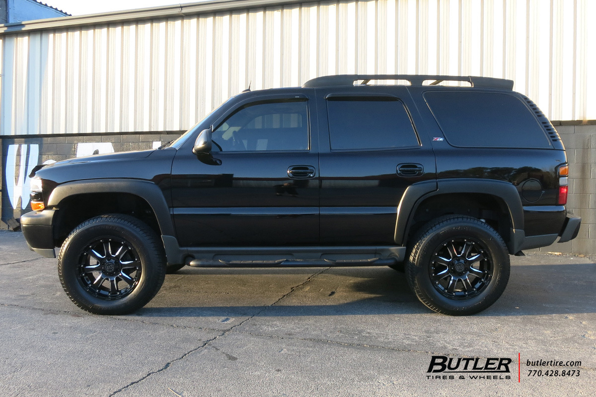 Chevy Tahoe with 20in Black Rhino Sierra Wheels