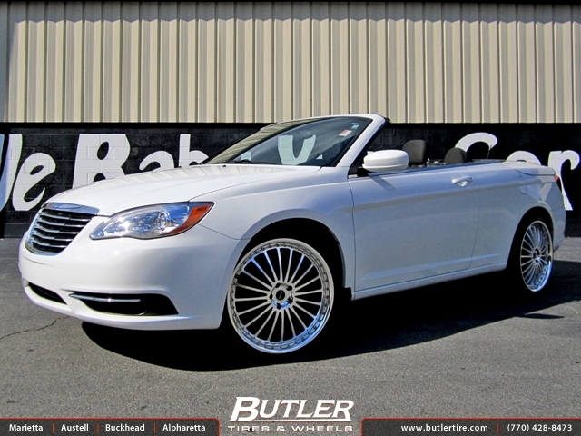 Chrysler 200S with 20in TSW Silverstone Wheels