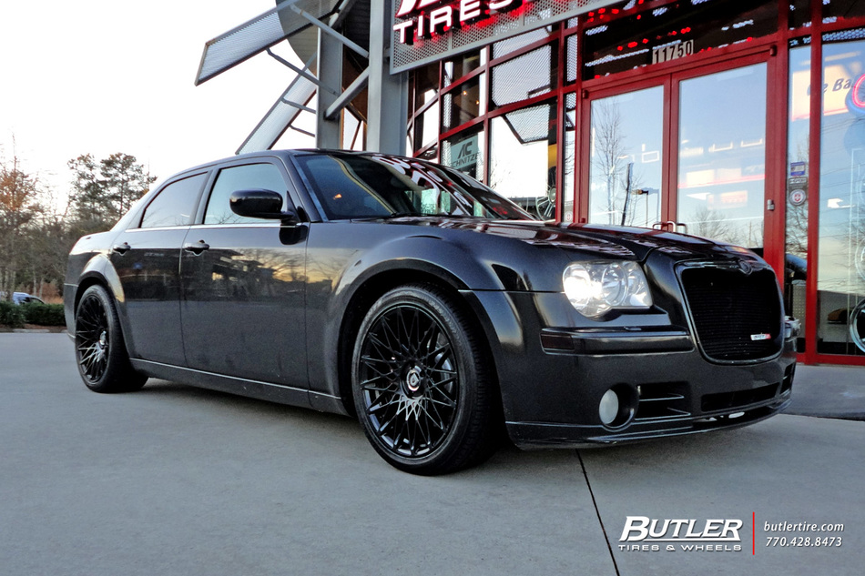 Chrysler 300 With 20in Lexani Css16 Wheels Exclusively