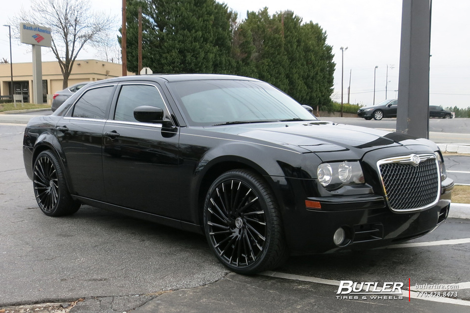Chrysler 300 With 22in Lexani Wraith Wheels Exclusively