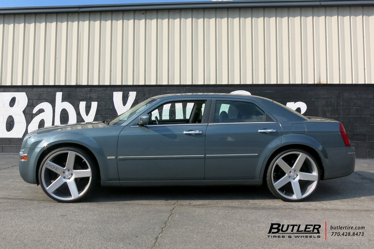 Chrysler 300 with 24in DUB Baller Wheels