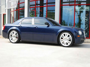 Chrysler 300C with 22in Axis Mulliner Wheels