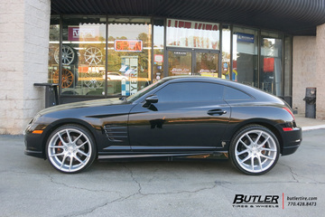 Chrysler Crossfire with 20in Niche Targa Wheels