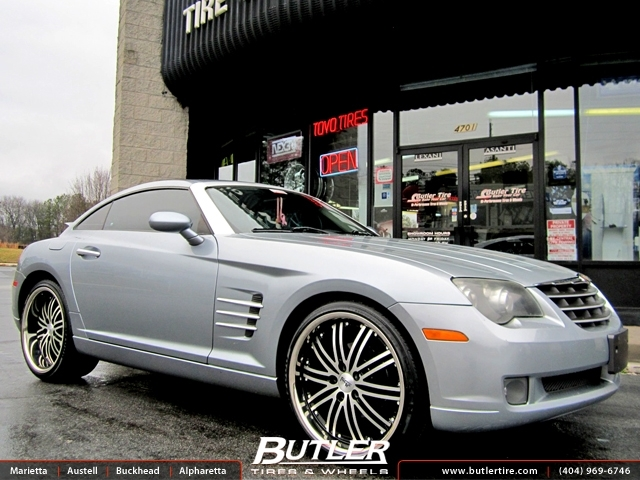 Chrysler Crossfire With 20in Niche Touring Wheels Exclusively From Butler Tires And Wheels In