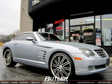 Chrysler Crossfire with 20in Niche Touring Wheels