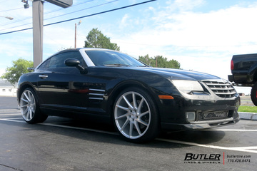 Chrysler Crossfire with 20in Savini BM15 Wheels