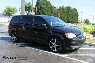 Dodge Caravan with 20in Lexani Invictus Wheels