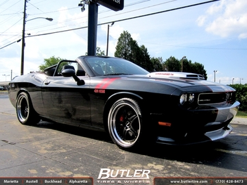 Dodge Challenger with 18in Forgline Wheels