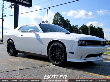Dodge Challenger with 20in TSW Brooklands Wheels