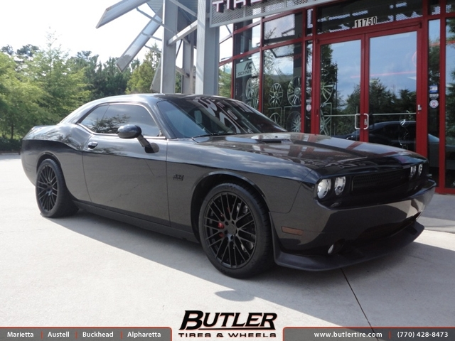 Dodge Challenger with 20in TSW Max Wheels