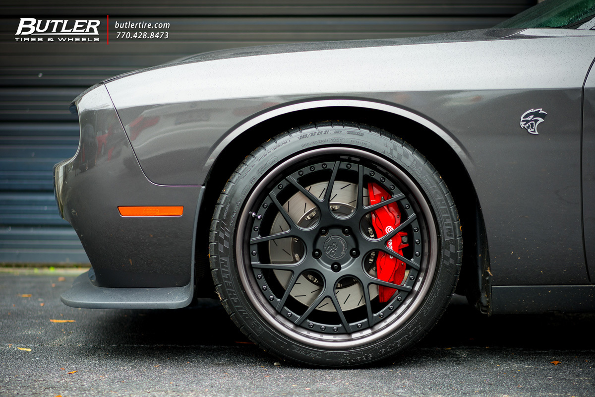Honda Pilot Tires >> Dodge Challenger with 21in Avant Garde F510 Wheels exclusively from Butler Tires and Wheels in ...