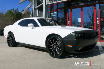Dodge Challenger with 22in Lexani Gravity Wheels