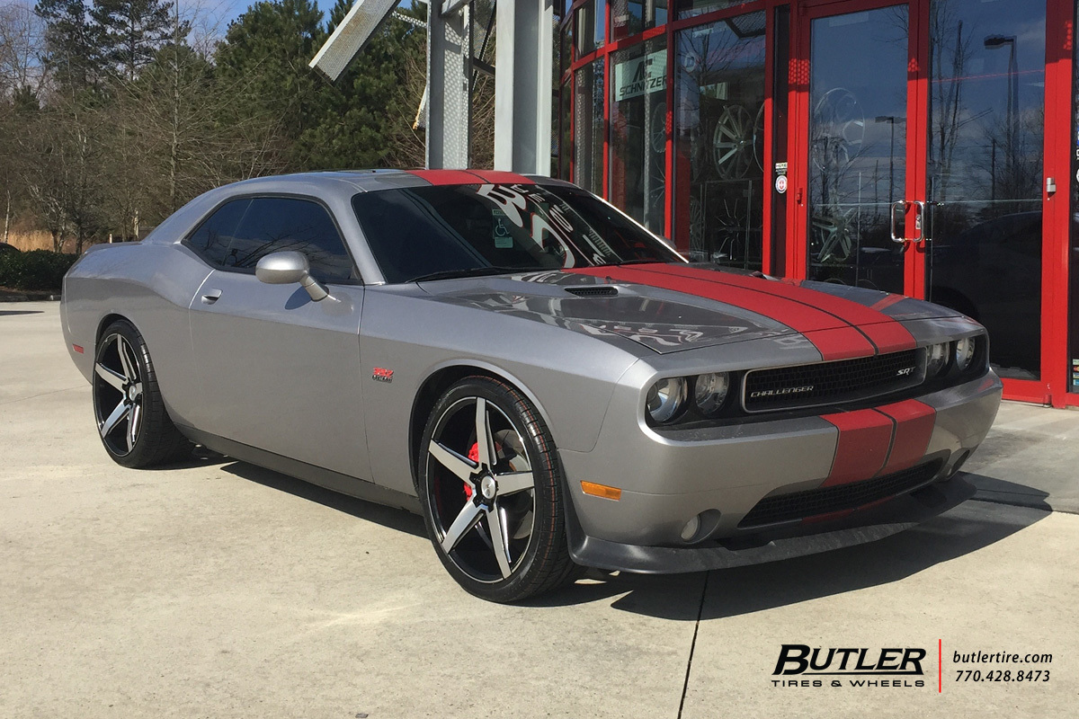 Dodge Challenger With 22in Savini Bm11 Wheels Exclusively From