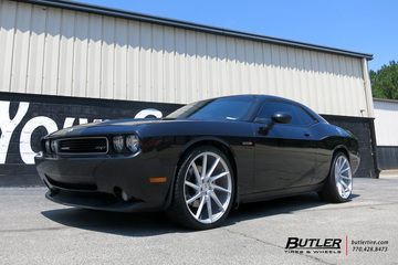 Dodge Challenger with 22in Savini BM15 Wheels
