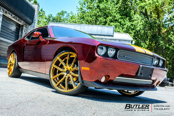 Dodge Challenger with 24in Lexani Gravity Wheels