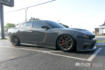 Dodge Charger with 20in Savini SV-F 4 Wheels